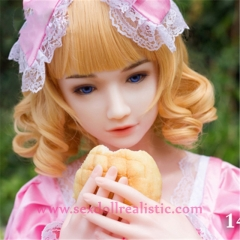 145cm small breast japanese silicone sex dolls real love doll