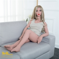 142cm Sandra Irontech doll japanese real doll life size love doll with latex doll plump thigh ass