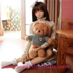 100cm Eyes Closed Realistic Love Doll