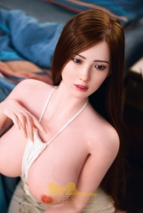 Realistic 162CM Big Breasts Silicone Doll for adult