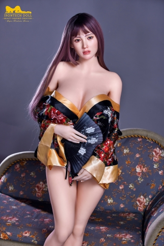 163cm Plus realistic sex doll S1 silicone head with TPE body